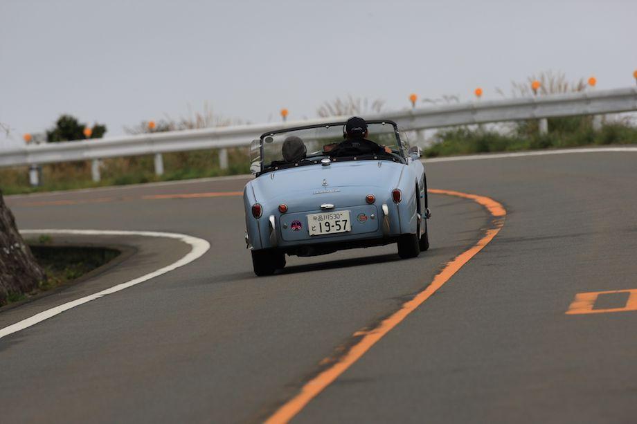 1957 Triumph TR3, La Festa Mille Miglia 2013