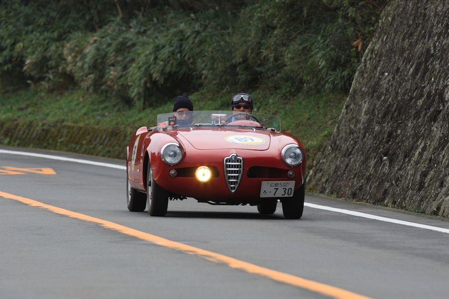 1957 Alfa Romeo Giulietta, La Festa Mille Miglia 2013