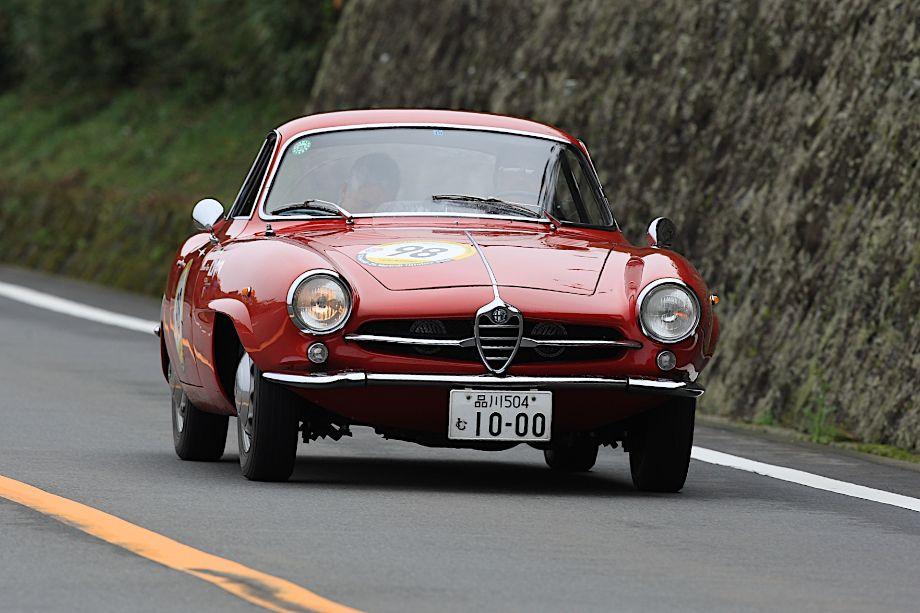 1960 Alfa Romeo Giulietta SS, La Festa Mille Miglia 2013