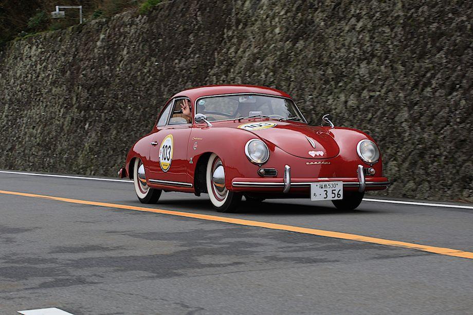 1954 Porsche 356 A Continental, La Festa Mille Miglia 2013