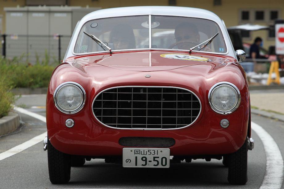 1950 Fiat 1100S Pininfarina Coupe, La Festa Mille Miglia 2013
