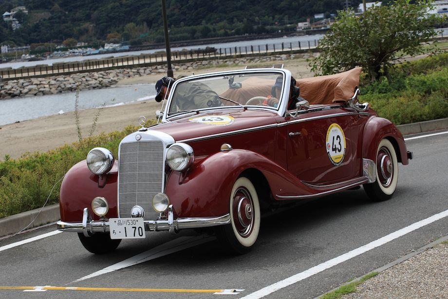 1950 Mercedes-Benz 170 Convertible, La Festa Mille MIglia 2013