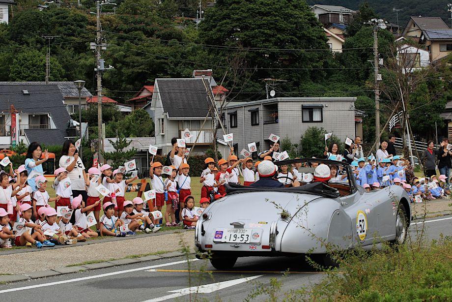 1953 Jaguar XK120 DHC, La Festa Mille Miglia 2013