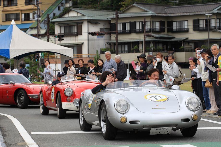 1955 Porsche 550 RS, 1962 MG MGA, 1968 Toyota 2000 GT, La Festa Mille Miglia 2013
