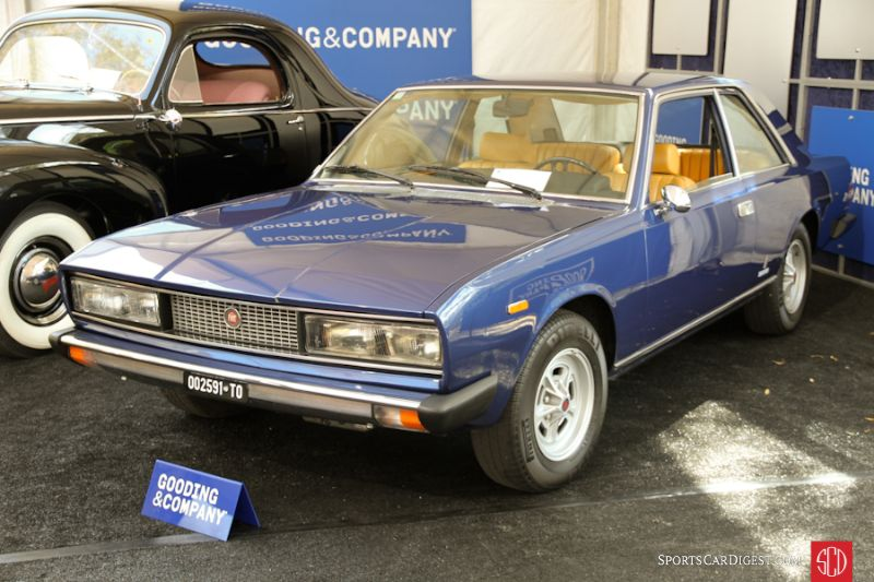 1973 Fiat 130 Coupe, Body by Pininfarina