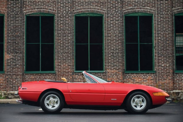 <strong>1973 Ferrari 365 GTB/4 Daytona Spyder – Estimate $900,000 - $1,100,000.</strong> Formerly owned by NBA great Jerry West.