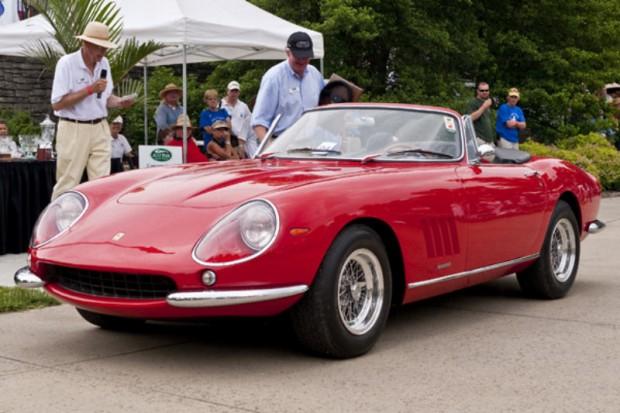 <strong>Drivers Award, Sponsored by Performance Alignment </strong> 1967 Ferrari 275 GTB/4 S NART Spyder, James L. Jaeger, Cincinnati, OH