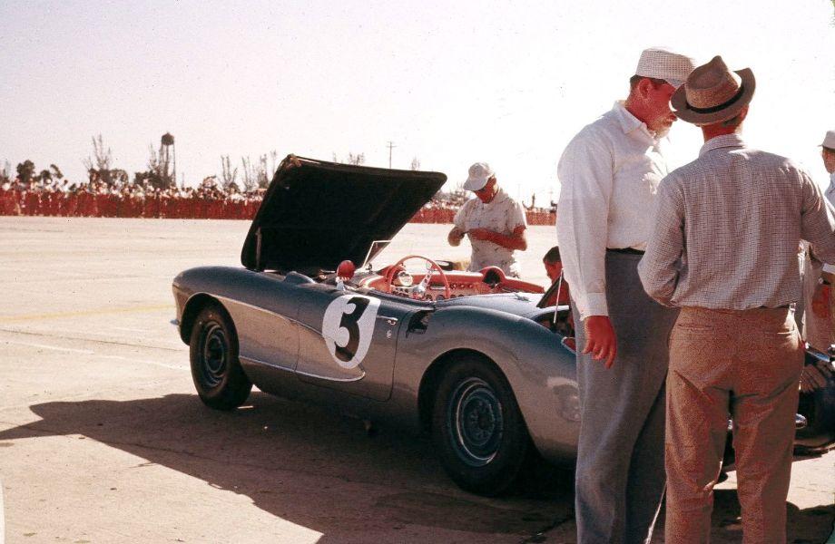 Chevrolet Corvette at Sebring 12 Hours 1956
