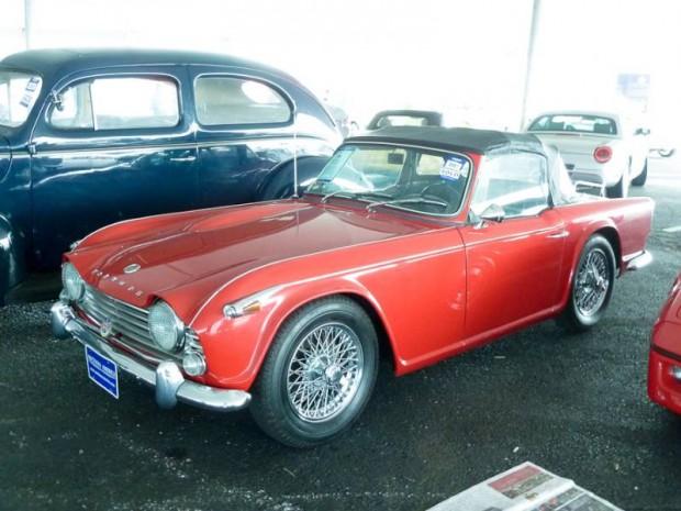 1965 Triumph TR4A Convertible