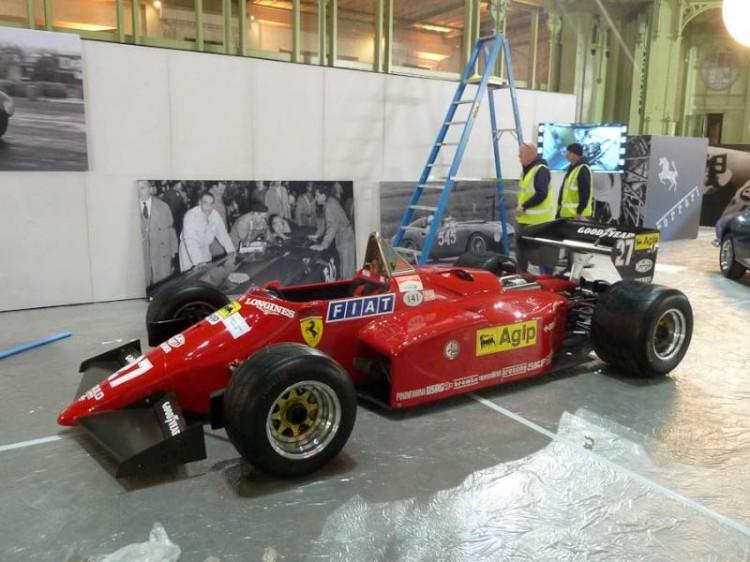 1984 Ferrari 126 C4 M2 Formula 1