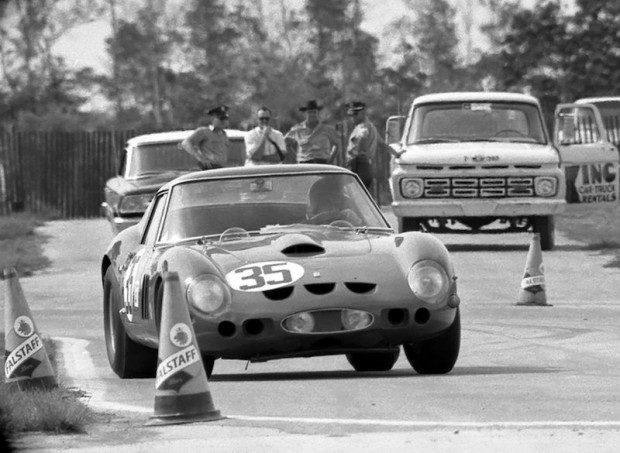 Ferrari 250 GTO - Skip Scott and Peter Clarke