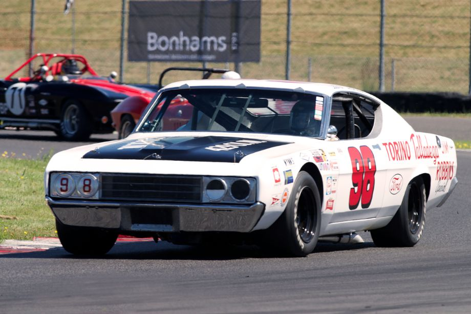 Ron Myska's 1969 Ford Talladega in twelve.