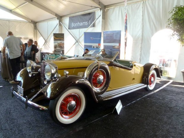 1932 Hupmobile Custom Roadster