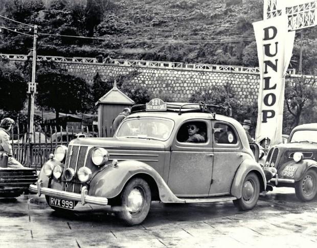 Ford V8 Pilot Monte Carlo Rally 1950