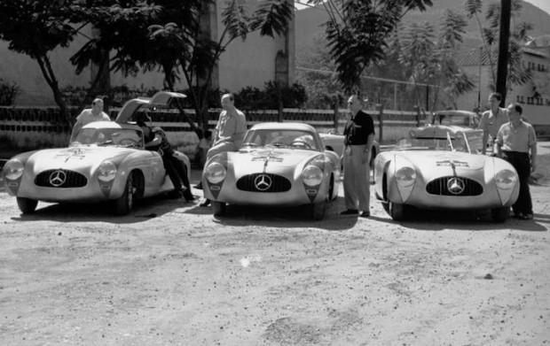 1952 Carrera Panamericana Mexico: Mercedes-Benz racing team