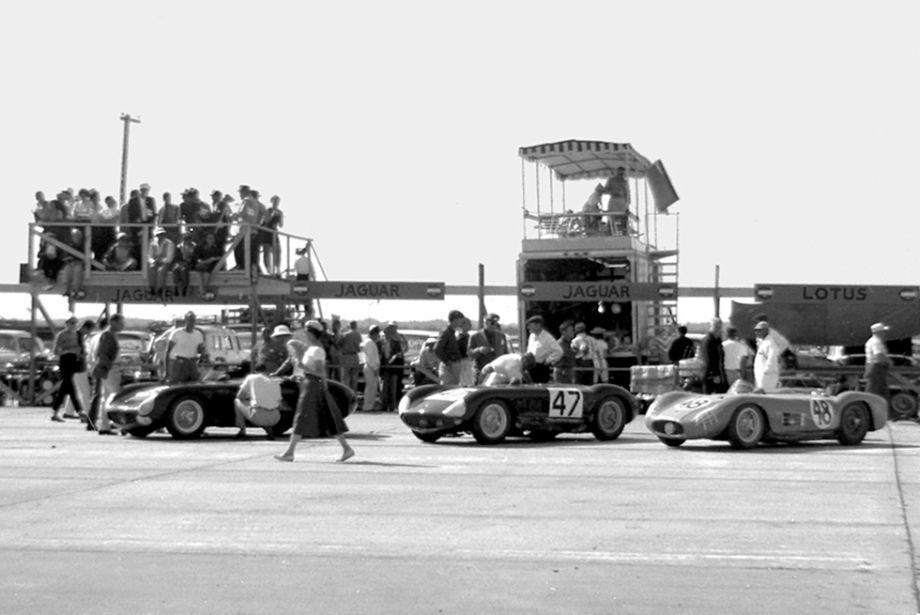 Maserati 150S at Sebring 12 Hours 1956