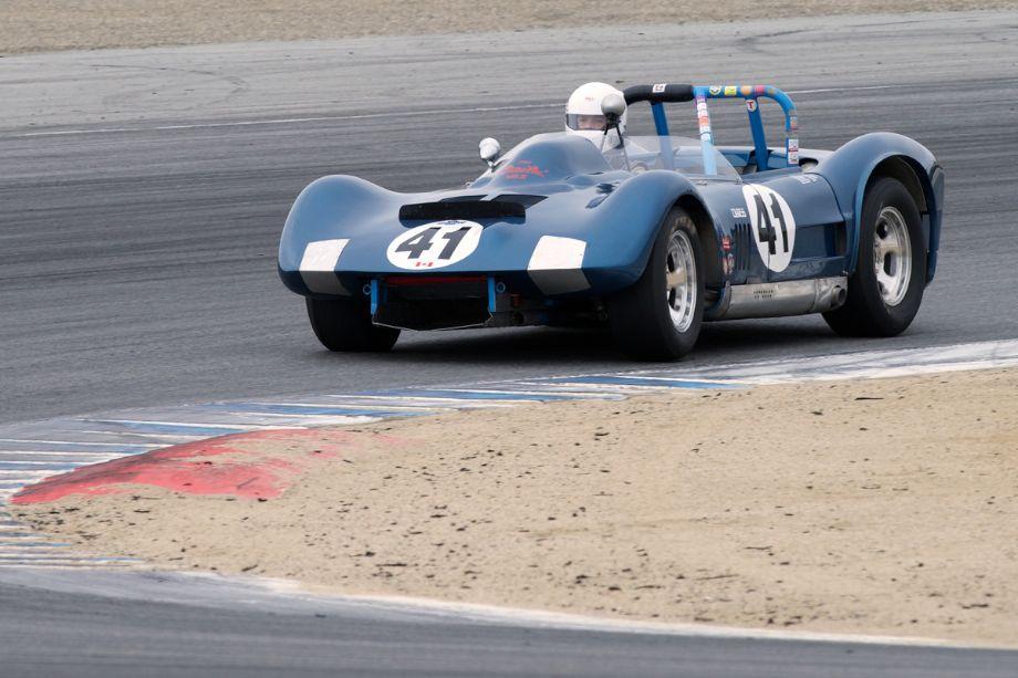 1962 Dailu Mk.II driven by Greg Myer in two.