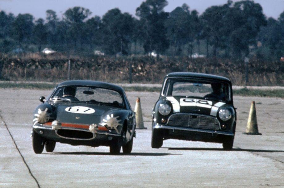Lotus Elite of John Bentley and John Gordon