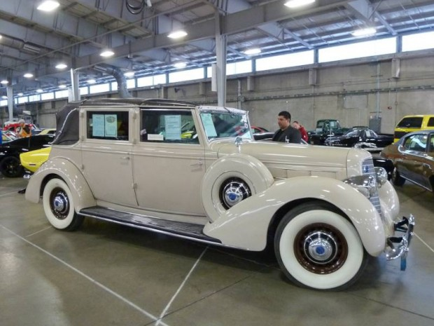 1936 Lincoln Model K All Weather Cabriolet