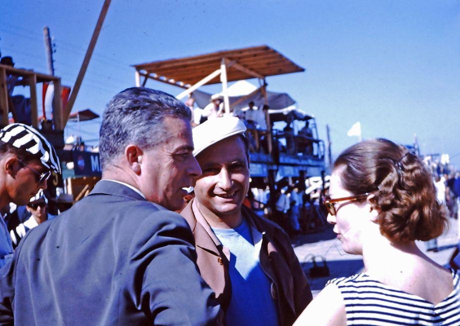 Juan Manuel Fangio 1956 Sebring 12 Hours