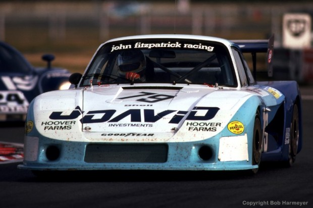 David Hobbs drives the Porsche 935/78-81 JR-002 en route to finishing 4th with co-driver and car owner John Fitzpatrick.