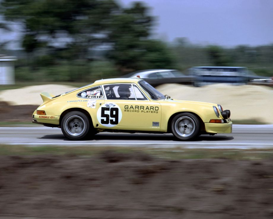 Sebring Winning Porsche 911 Carrera RSR