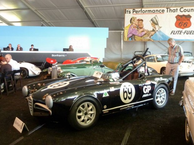 1957 Alfa Romeo Giulietta Spider Vintage Race Car