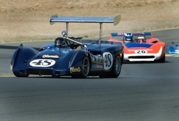 1968 McLeagle McLaren M6B Andy Boone and 1968 Lola T70 Mk 3 Steve Hilton