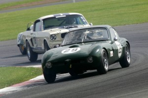Morgan Plus 4 and Shelby Mustang GT350