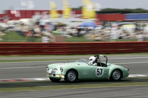The RAC Woodcote Trophy for Pre-1956 Sports Cars