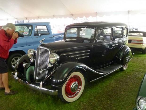 1934 Chevrolet Master Deluxe 4-Dr. Sedan