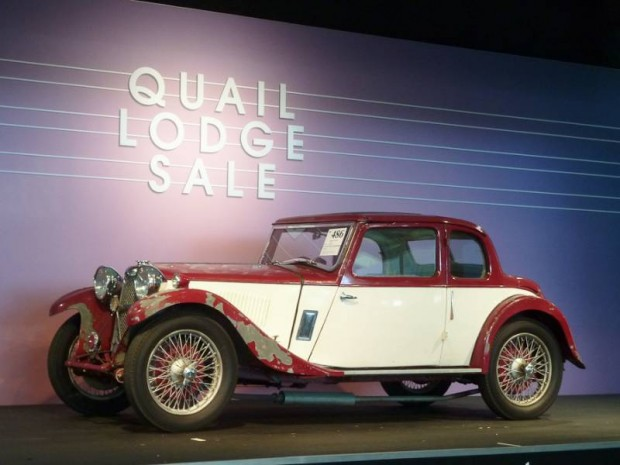 1933 Riley 9hp Lincock Coupe