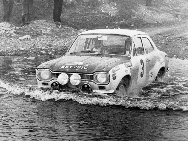 Roger Clark Jim Porter Ford Escort rally car