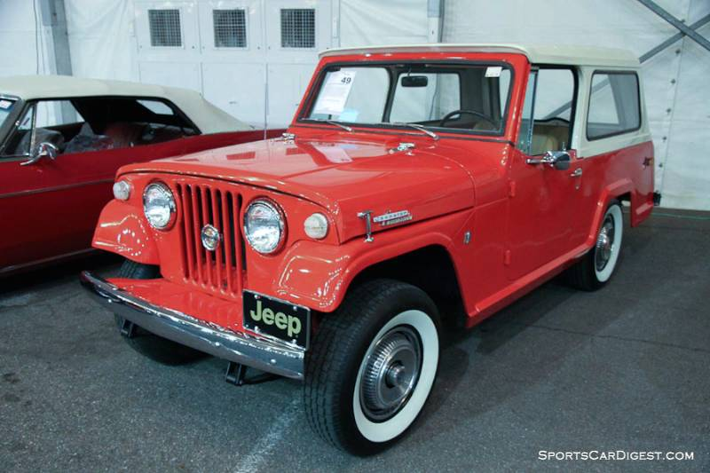 Jeep Jeepster Cammando Station Wagon F on Jeepster Commando Inside