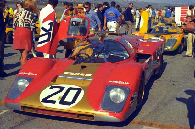 Ferrari 512M of Masten Gregory and Gregg Young