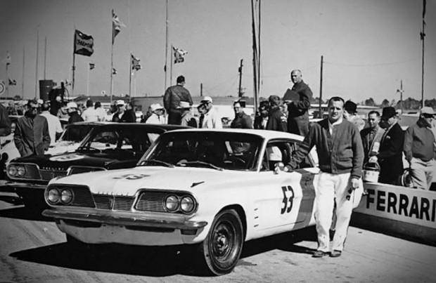 AJ Foyt, Pontiac Tempest, 1962 Daytona 3 Hour Continental