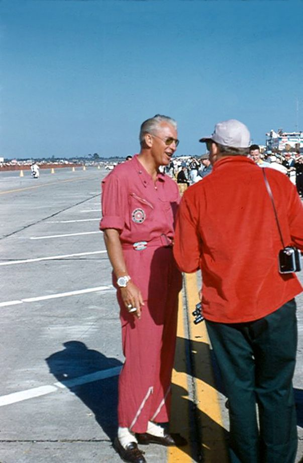 SCCA president Jim Kimberly.  He drove a Ferrari at Sebring in 1956.  (Gene Bussian photo)