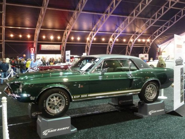 1968 Shelby Mustang The Green Hornet