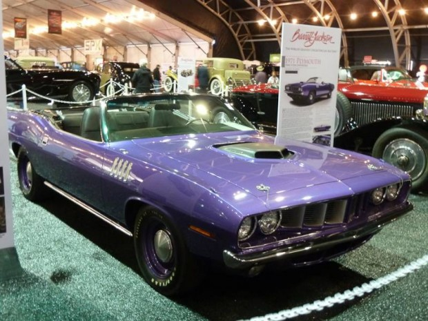 1971 Plymouth 'Cuda Hemi Convertible