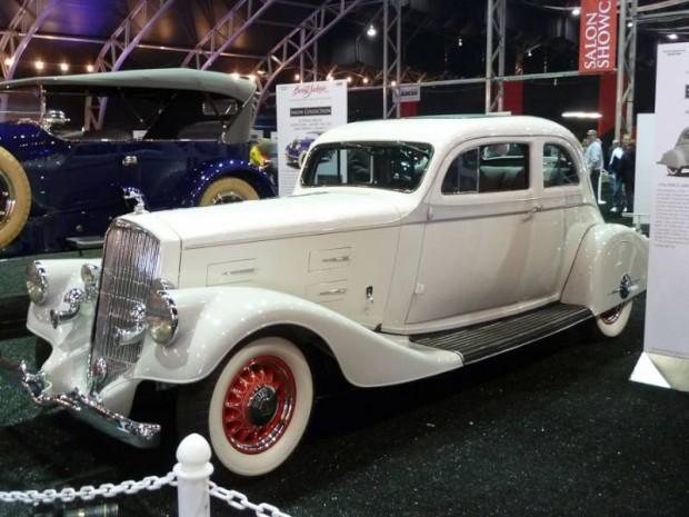 1934 Pierce-Arrow Silver Arrow 2-Dr. Sedan
