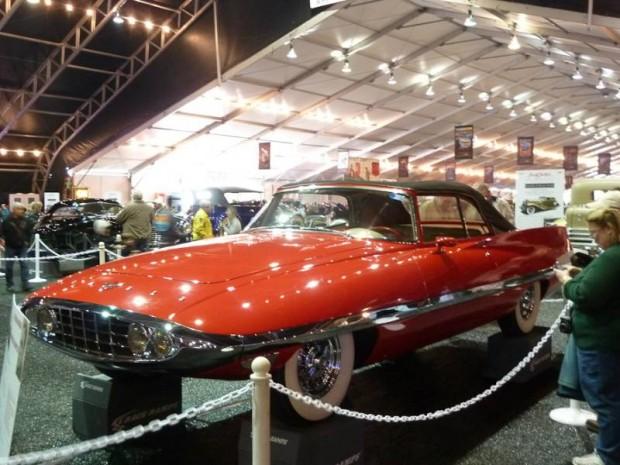 1956 Chrysler Diablo Concept Convertible, Body by Ghia