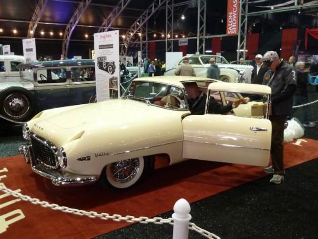1955 Hudson Italia Coupe