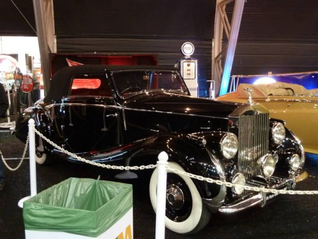 1947 Rolls-Royce Silver Wraith Drophead Coupe, Body by Franay