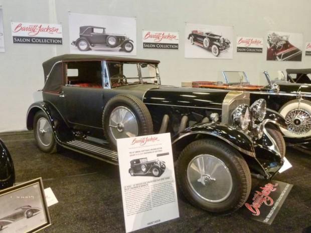 1927 Mercedes-Benz 630K Drophead Coupe Sport Touring, Body by Thomas Harrington
