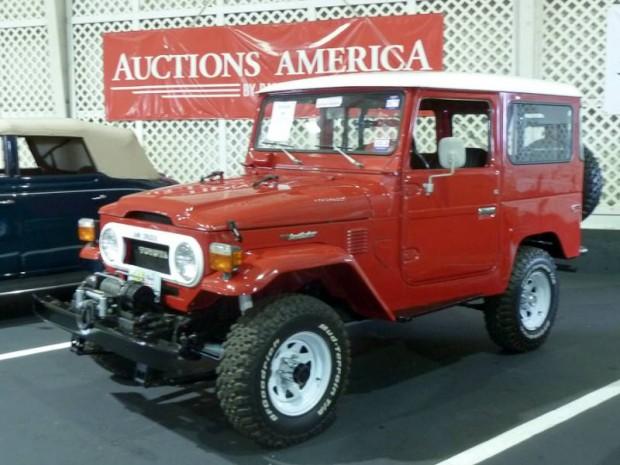 1976 Toyota FJ40 Land Cruiser Utility