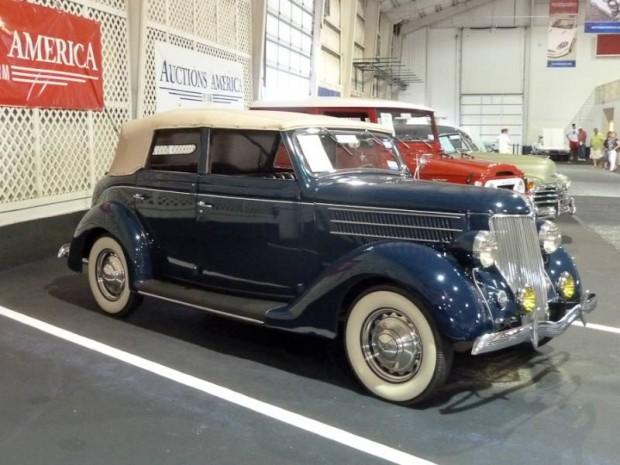 1936 Ford Model 68 Deluxe Convertible Sedan