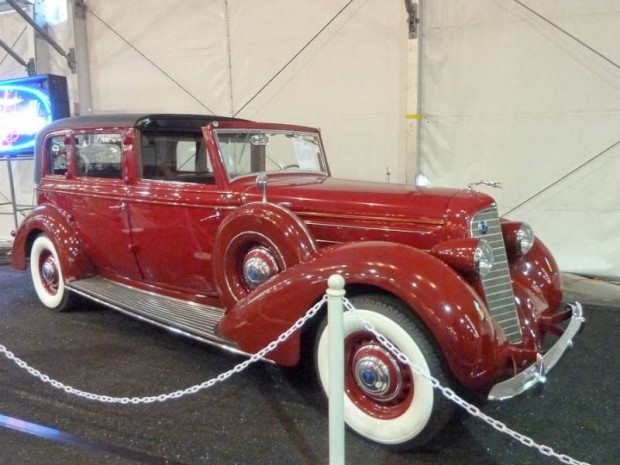 1936 Lincoln K Town Car, Body by Brunn