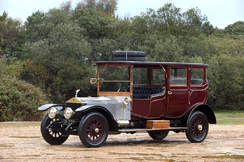 <strong>1913 Rolls-Royce 50hp Silver Ghost Open-Drive Limousine sold for £199,500</strong>
