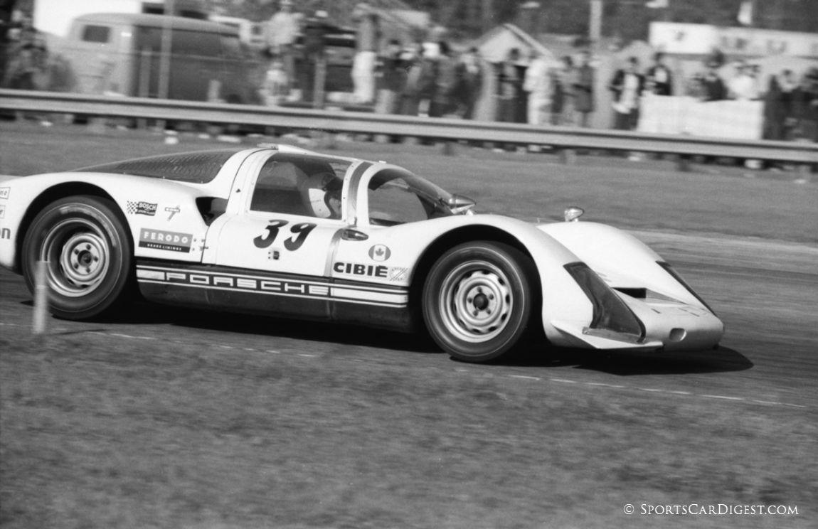 Brezinka/Petermann/Bartling Porsche 906 retired after 96 laps. (Lou Galanos photo)