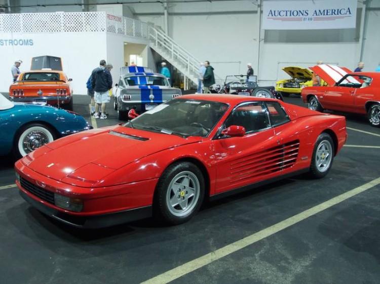 1990 Ferrari Testarossa, Body by Pininfarina